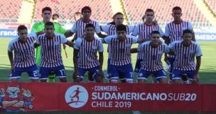 La Albirroja Sub 20 no pudo avanzar al hexagonal del Sudamericano de Chile. (Foto @Albirroja)