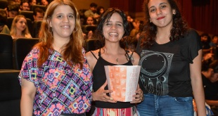 Mandy Guex, Isabel Díaz y Fátima Jara.