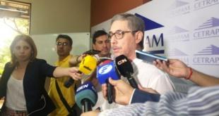 César Ruiz Díaz, vocero de Cetrapam.