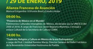 La Secretaría Nacional de Cultura (SNC) invita a participar de las Charlas Magistrales sobre Patrimonio Cultural Inmaterial.
