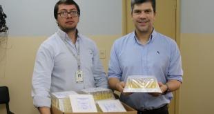 Unas 1.200 unidades de sueros fisiológicos de 5ML fueron entregadas en concepto de donación al Hospital Regional de Ciudad del Este.