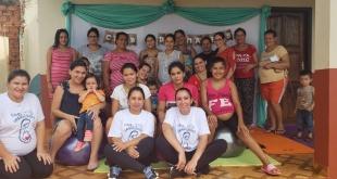 En la oportunidad, participaron 17 madres de la zona.