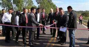 El expresidente de la República, Horacio Cartes, inauguró numerosas obras durante su gestión.
