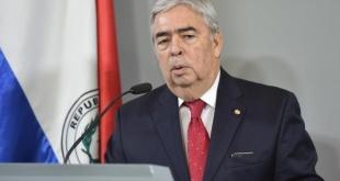 Hugo Saguier Caballero, ministro sustituto de Relaciones Exteriores.