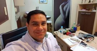 El doctor Hugo Stenico, ginecólogo del hospital Regional de Encarnación.