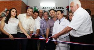El presidente Mario Abdo inauguró, este viernes, la ampliación y equipamiento del Hospital Distrital de Coronel Bogado.