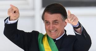 El ultraderechista Jair Bolsonaro, mandatario de Brasil.