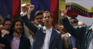 Juan Guaidó, presidente interino de Venezuela.