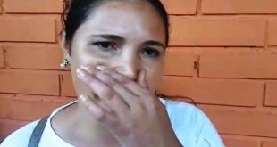 Liz Rosalba Vera González, funcionaria comunal, con cáncer, quien fue rajada por la interventora.