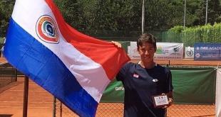 El paraguayo Martín Vergara logró su primer título de single en la Copa Indervalle de Colombia. (Foto COP).