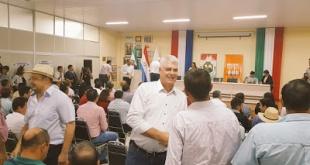 Firman convenio marco interinstitucional representantes del MOPC, la Gobernación y los municipios del departamento de Itapúa.