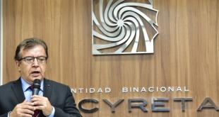 Nicanor Duarte Frutos, director paraguayo de Yacyretá.