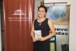 La joven escritora Rebeca Romero presentó su primer libro de cuentos.