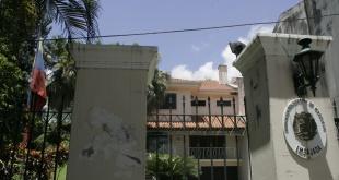 Los funcionarios diplomáticos de Venezuela, tienen tiempo para abandonar la sede de su embajada en nuestro país hasta el 26 de enero.
