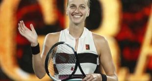 Petra Kvitova accedió a las semifinales del abierto de Australia en Melbourne.