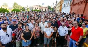 Una gran cantidad de personas participó del recorrido histórico organizado por la SNC.