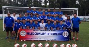 La Selección Paraguaya de Intermedia sigue con los trabajos.