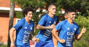 El seleccionado paraguayo Sub 20 activó en el aspecto físico, bajo las indicaciones del preparador físico Martín Paolorosso. (Foto: @Albirroja).