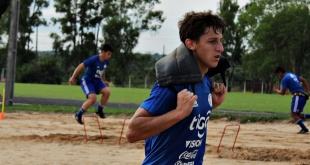 El seleccionado nacional juvenil Sub 17 arrancó la semana de pretemporada. (Foto Prensa @Albirroja).