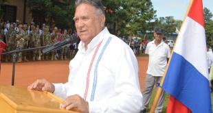 Alejo Ríos, gobernador  de Caaguazú.