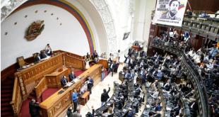 La Asamblea Nacional durante la reunión del martes.