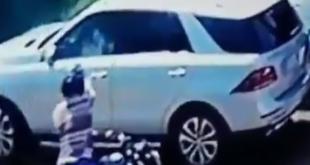 El ciudadano Gustavo Alvarenga, presunto administrador de Jarvis Pavão, fue asesinado en la mañana de este miércoles. Foto: Captura de video de la 970 AM.