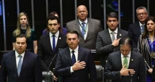 Messias Bolsonaro (63) se convirtió ayer en el presidente de la República Federativa del Brasil.