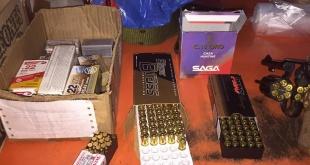 Proyectiles de arma de fuego que aparentemente distribuían en una de las viviendas verificadas.
