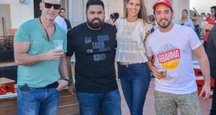 Roger Careaga, Rubén Vera, Florencia Rotchen y Erick Berna.