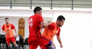 El entrenador Carlos Chilavert realizó la primera movilización de la Selección Paraguaya de Futsal FIFA. (Foto APF)