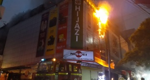 El incendio va tomando fuerza. Foto: Gentileza.