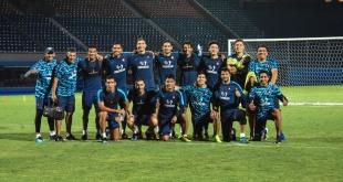 Jugadores de Cerro Porteño, quienes compiten en el torneo Apertura. Foto: @CCP1912oficial.
