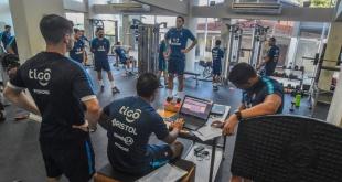 Cerro arrancó los trabajos de cara a la temporada 2019 con mediciones, pruebas de salto y trabajos de musculatura. (Foto Club Cerro Porteño).