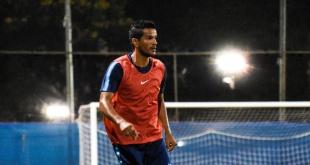 """El defensor de Cerro Porteño, Salustiano """"Chano"""" Candia,  ya palpita el juego ante Libertad por la segunda fecha del Apertura. (Foto Prensa Cerro)."""