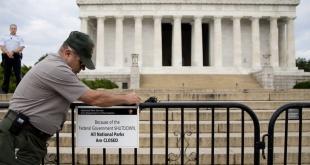 El cierre de gobierno en Estados Unidos afecta a varias instituciones estatales.