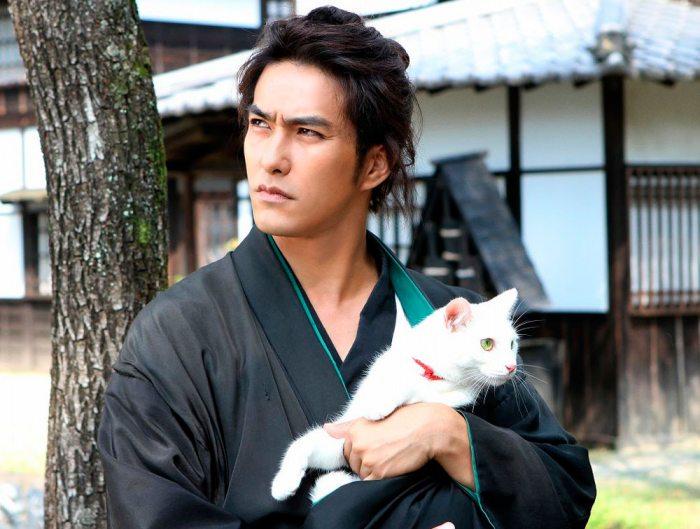 """""""El Samurai del Gato"""", película que cuenta con la actuación principal de Kazuki Kitamura."""