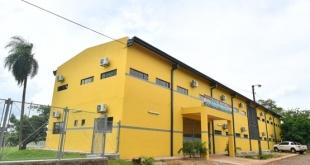 El edificio del colegio técnico que fue revitalizado.