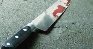 El arma blanca que utilizó Fernando Nicolás Duarte para atacar a su padre.