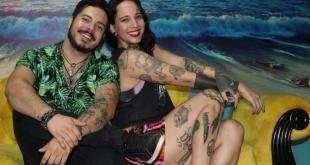 Erico Luna y Elena Muller, dieron un espectáculo que presentaron en el escenario de Long Beach.