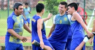 Deportivo Capiatá trabaja bajo el mando de José Basualdo, ultimando detalles de cara al debut en el Torneo Apertura 2019. (Foto Prensa Capiatá).