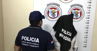 Víctor Luis Ojeda González tras ser detenido en la vía pública.