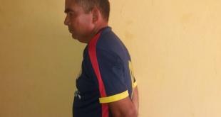 El Ministerio del Interior informó sobre la detención de Pablo Ortiz Araújo, de 55 años. Foto: MI.