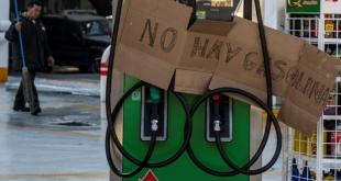 México sufre desabastecimiento de combustible.