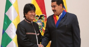 , Evo Morales, dijo que  Bolivia no reconoce a Guaidó como presidente de Venezuela.