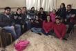 Grupo de jóvenes integrantes de la Federación Nacional de Estudiantes Secundarios (Fenaes).