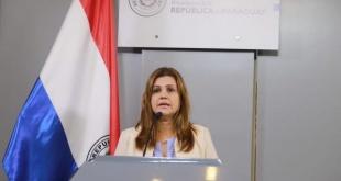 Acevedo manifestó que el viernes 4 uno de los hijos de Chilavert radicó la denuncia ante la Unidad del Ministerio Público a su cargo, en Asunción. Foto; Presidencia.