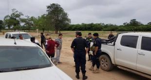 El operativo fue realizado con personal técnico del Infona y acompañó la comitiva la titular del ente. Foto: @fiscalia_prensa.