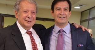 Los senadores Juan Carlos Galaverna y Silvio Ovelar.
