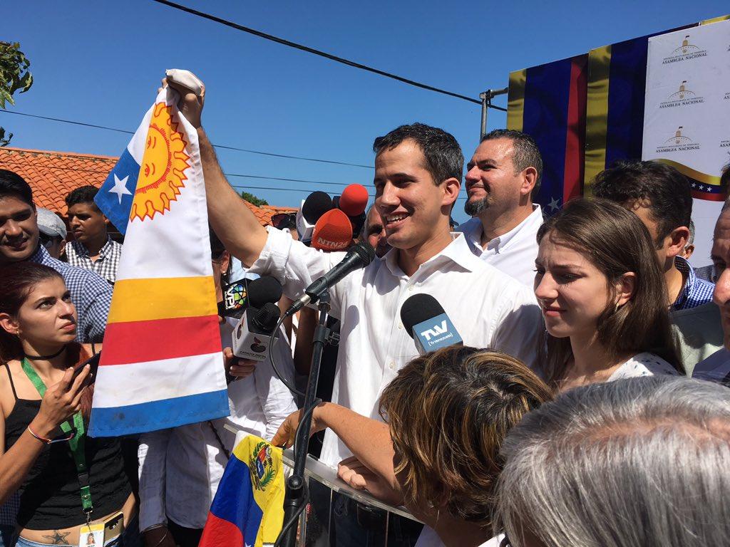 Guaidó dijo que la oposición no le teme al régimen de Maduro