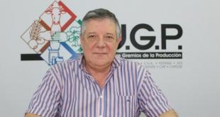 Héctor Cristaldo, presidente de la Unión de Gremios de la Producción UGP).